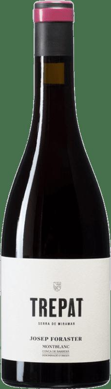 11,95 € Free Shipping | Red wine Josep Foraster D.O. Conca de Barberà Catalonia Spain Trepat Bottle 75 cl