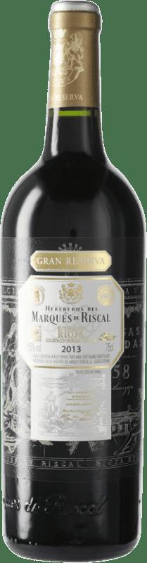 42,95 € Envoi gratuit   Vin rouge Marqués de Riscal Gran Reserva D.O.Ca. Rioja Espagne Bouteille 75 cl