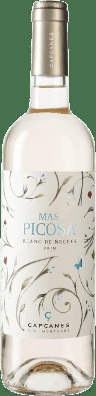 6,95 € Envío gratis | Vino blanco Capçanes Mas Picosa Blanc de Negres D.O. Montsant España Botella 75 cl
