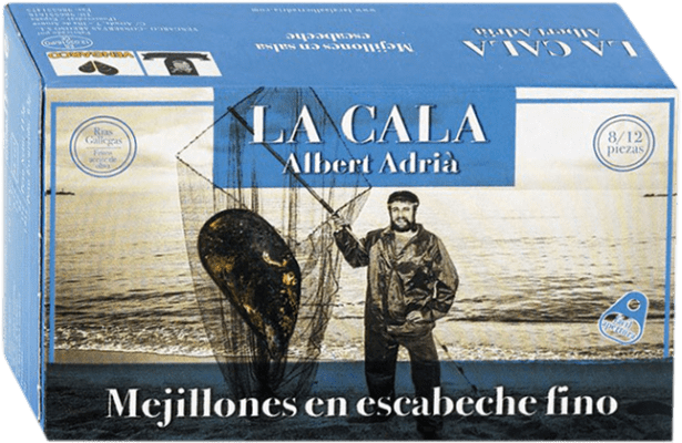 7,95 € Envoi gratuit   Conservas de Marisco La Cala Mejillón en Escabeche Espagne 8/12 Pièces