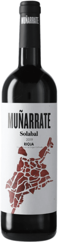 4,95 € Free Shipping | Red wine Solabal Muñarrate D.O.Ca. Rioja Spain Bottle 75 cl