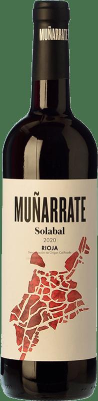 4,95 € Envoi gratuit   Vin rouge Solabal Muñarrate D.O.Ca. Rioja Espagne Bouteille 75 cl