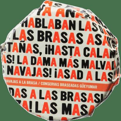 16,95 € Kostenloser Versand | Conservas de Marisco Güeyu Mar Navajas Fürstentum Asturien Spanien 6/8 Stücke