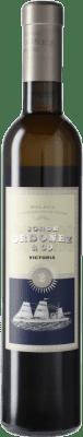 15,95 € Envío gratis | Vino blanco Jorge Ordóñez Nº 2 Victoria D.O. Sierras de Málaga España Media Botella 37 cl