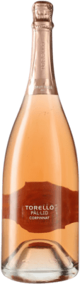 31,95 € Free Shipping | Rosé sparkling Torelló Pàl·lid Rosé Brut Corpinnat Spain Pinot Black Magnum Bottle 1,5 L