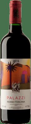 171,95 € Free Shipping | Red wine Tenuta di Trinoro Palazzi I.G.T. Toscana Italy Merlot Bottle 75 cl
