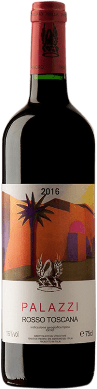 153,95 € Free Shipping | Red wine Tenuta di Trinoro Palazzi I.G.T. Toscana Italy Merlot Bottle 75 cl