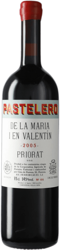 84,95 € Free Shipping | Red wine Finques Cims de Porrera Pastelero de la Maria i en Valentín 2005 D.O.Ca. Priorat Catalonia Spain Grenache, Carignan Bottle 75 cl