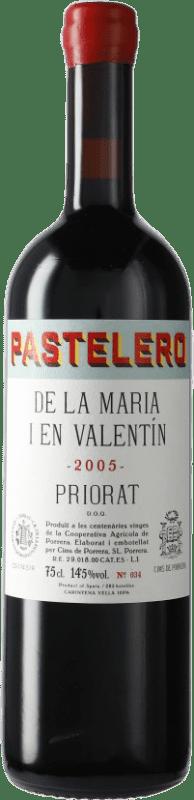 91,95 € Envío gratis | Vino tinto Cims de Porrera Pastelero de la Maria i en Valentín 2005 D.O.Ca. Priorat Cataluña España Garnacha, Cariñena Botella 75 cl