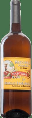 56,95 € Free Shipping | Fortified wine Barbadillo Pastora Pasada en Rama 2000 D.O. Manzanilla-Sanlúcar de Barrameda Sanlucar de Barrameda Spain Palomino Fino Magnum Bottle 1,5 L