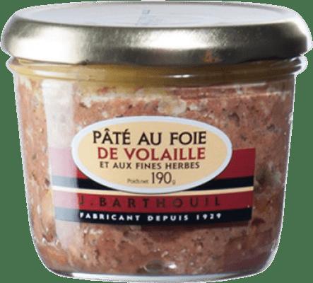 4,95 € Envío gratis | Foie y Patés J. Barthouil Pâté au Foie de Volaille Francia