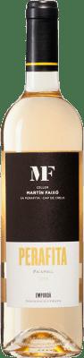 9,95 € Free Shipping | White wine Martín Faixó Perafita Blanc D.O. Empordà Catalonia Spain Picapoll Bottle 75 cl