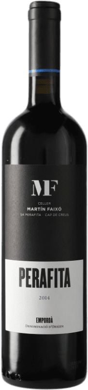 15,95 € Envío gratis | Vino tinto Martín Faixó Perafita Negre D.O. Empordà Cataluña España Merlot, Garnacha, Cabernet Sauvignon Botella 75 cl