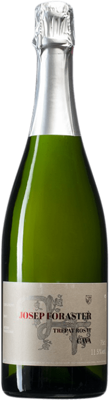 9,95 € Free Shipping | Rosé sparkling Josep Foraster Rosat Brut Reserva D.O. Cava Spain Trepat Bottle 75 cl