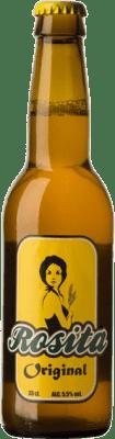 1,95 € Envoi gratuit | Bière Pamela Geddes Rosita Espagne Botellín Tercio 33 cl