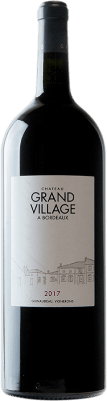 285,95 € Free Shipping | Red wine Château Grand Village Rouge A.O.C. Bordeaux Supérieur Bordeaux France Merlot, Cabernet Franc Imperial Bottle-Mathusalem 6 L