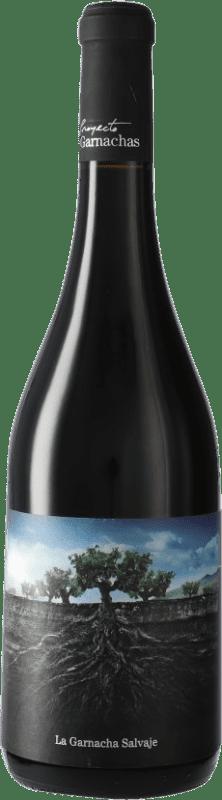 7,95 € Free Shipping   Red wine Vintae Chile Salvaje del Moncayo I.G.P. Vino de la Tierra Ribera del Queiles Spain Grenache Bottle 75 cl