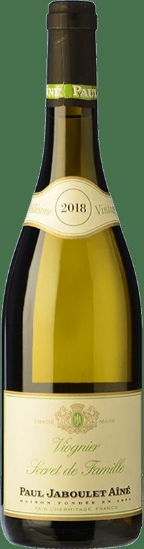 8,95 € Envío gratis | Vino blanco Jaboulet Aîné Secret de Famille Francia Viognier Botella 75 cl