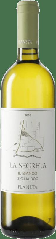 9,95 € Envoi gratuit | Vin blanc Planeta Segretta Blanc I.G.T. Terre Siciliane Sicile Italie Viognier, Chardonnay, Fiano, Grecanico Dorato Bouteille 75 cl