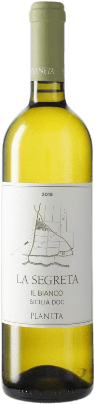 9,95 € Free Shipping   White wine Planeta Segretta Blanc I.G.T. Terre Siciliane Sicily Italy Viognier, Chardonnay, Fiano, Grecanico Dorato Bottle 75 cl