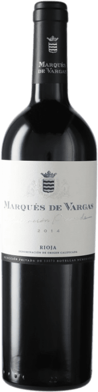 47,95 € Free Shipping | Red wine Marqués de Vargas Selección Privada D.O.Ca. Rioja Spain Bottle 75 cl