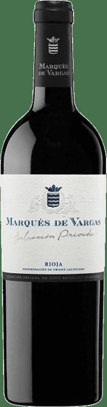 47,95 € Envío gratis | Vino tinto Marqués de Vargas Selección Privada D.O.Ca. Rioja España Botella 75 cl