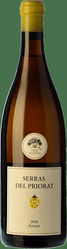 16,95 € Free Shipping | White wine Clos Figueras Serras del Priorat Blanc D.O.Ca. Priorat Catalonia Spain Grenache White Bottle 75 cl