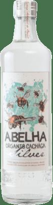 19,95 € Envío gratis | Cachaza Abelha Organic Silver Brasil Botella 70 cl