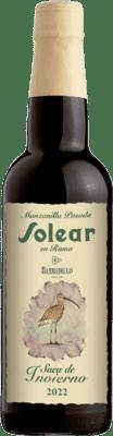 14,95 € Free Shipping | Fortified wine Barbadillo Solear en Rama Saca de Invierno D.O. Manzanilla-Sanlúcar de Barrameda Sanlucar de Barrameda Spain Palomino Fino Half Bottle 37 cl