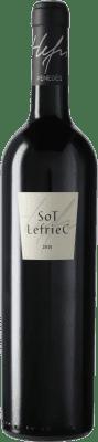 52,95 € Envío gratis | Vino tinto Alemany i Corrió Sot Lefriec D.O. Penedès Cataluña España Merlot, Cabernet Sauvignon, Cariñena Botella 75 cl