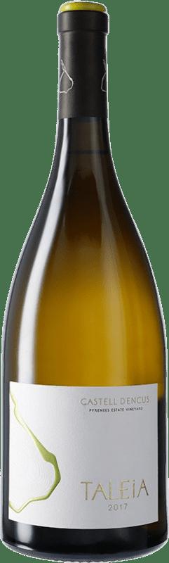 49,95 € Kostenloser Versand | Weißwein Castell d'Encús Taleia D.O. Costers del Segre Spanien Sauvignon Weiß, Sémillon Magnum-Flasche 1,5 L