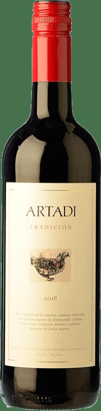 11,95 € Envoi gratuit | Vin rouge Artadi Tradición D.O. Navarra Navarre Espagne Bouteille 75 cl