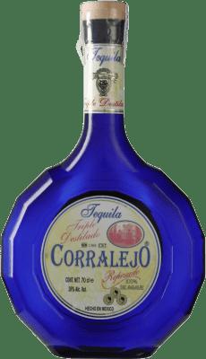 46,95 € Free Shipping | Tequila Corralejo Triple Destilado Jalisco Mexico Bottle 70 cl