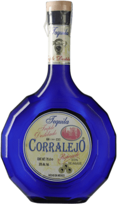 37,95 € Envoi gratuit | Tequila Corralejo Triple Destilado Jalisco Mexique Bouteille 70 cl
