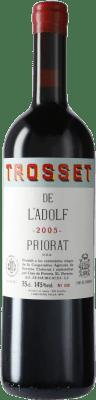 91,95 € Envío gratis | Vino tinto Cims de Porrera Trosset de l'Adolf 2005 D.O.Ca. Priorat Cataluña España Cariñena Botella 75 cl