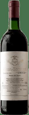 1 397,95 € Free Shipping | Red wine Vega Sicilia Único Gran Reserva 1962 D.O. Ribera del Duero Castilla y León Spain Tempranillo, Cabernet Sauvignon Bottle 75 cl