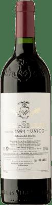 599,95 € Free Shipping | Red wine Vega Sicilia Único Gran Reserva 1994 D.O. Ribera del Duero Castilla y León Spain Tempranillo, Merlot, Cabernet Sauvignon Bottle 75 cl