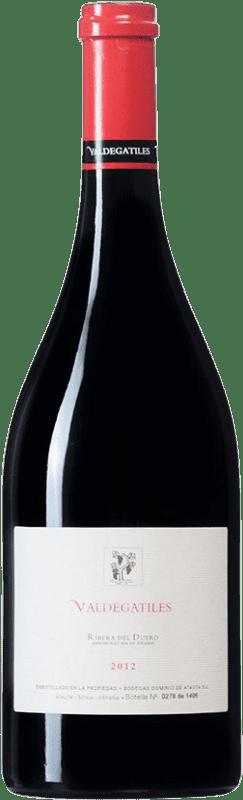 76,95 € Envío gratis | Vino tinto Dominio de Atauta Valdegatiles D.O. Ribera del Duero Castilla y León España Tempranillo Botella 75 cl