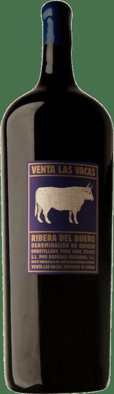 1 142,95 € Free Shipping | Red wine Vizcarra Venta las Vacas D.O. Ribera del Duero Castilla y León Spain Tempranillo Botella Melchor 18 L
