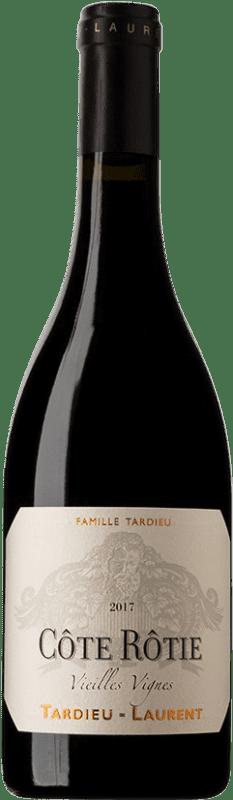 98,95 € Envío gratis | Vino tinto Tardieu-Laurent Vieilles Vignes A.O.C. Côte-Rôtie Francia Botella 75 cl