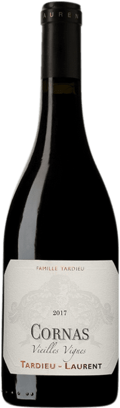 64,95 € Free Shipping | Red wine Tardieu-Laurent Vielles Vignes A.O.C. Cornas France Syrah, Serine Bottle 75 cl
