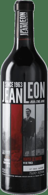 19,95 € Envoi gratuit | Vin rouge Jean Leon Vinya Le Havre Reserva D.O. Penedès Catalogne Espagne Cabernet Sauvignon Bouteille 75 cl