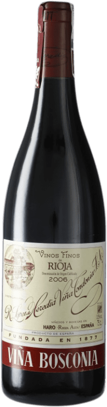 19,95 € Free Shipping | Red wine López de Heredia Viña Bosconia Reserva D.O.Ca. Rioja Spain Tempranillo, Grenache, Graciano, Mazuelo Bottle 75 cl