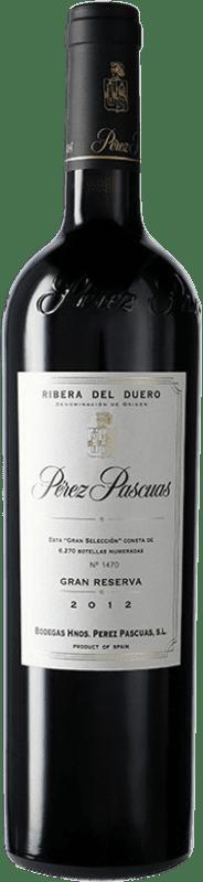 291,95 € Free Shipping | Red wine Pérez Pascuas Viña Pedrosa Gran Selección D.O. Ribera del Duero Castilla y León Spain Tempranillo Bottle 75 cl