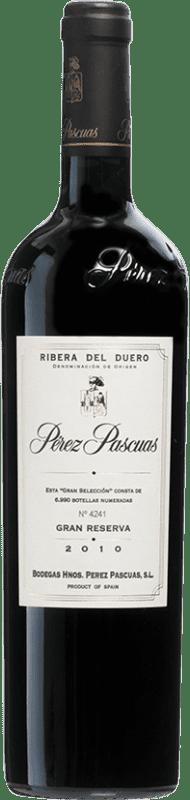 197,95 € Free Shipping | Red wine Pérez Pascuas Viña Pedrosa Gran Selección 2010 D.O. Ribera del Duero Castilla y León Spain Tempranillo Bottle 75 cl