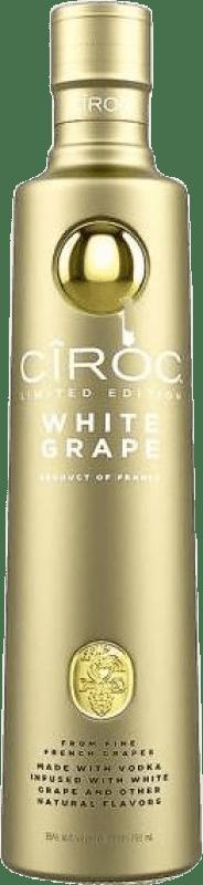 39,95 € Free Shipping | Vodka Cîroc White Grape France Bottle 70 cl