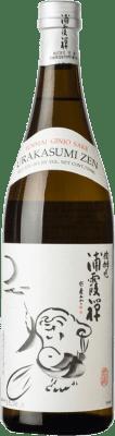 46,95 € Envío gratis | Sake Urakasumi Saura Zen Japón Botella 72 cl